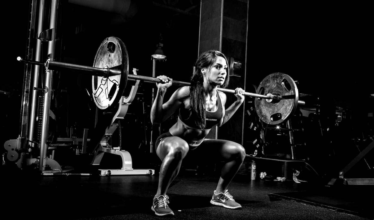 Тренировки для худых девушек